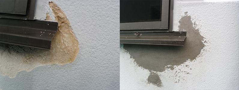 御代田町E様邸外壁塗装工事・外壁の補修