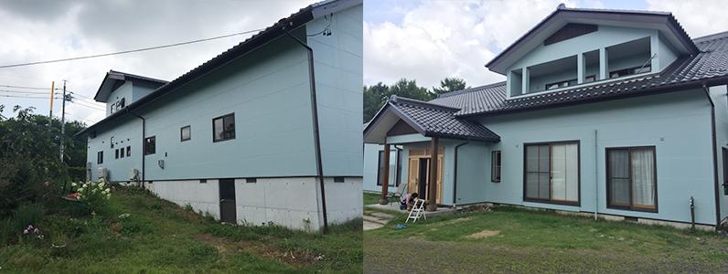 御代田町E様邸外壁塗装工事・施工後
