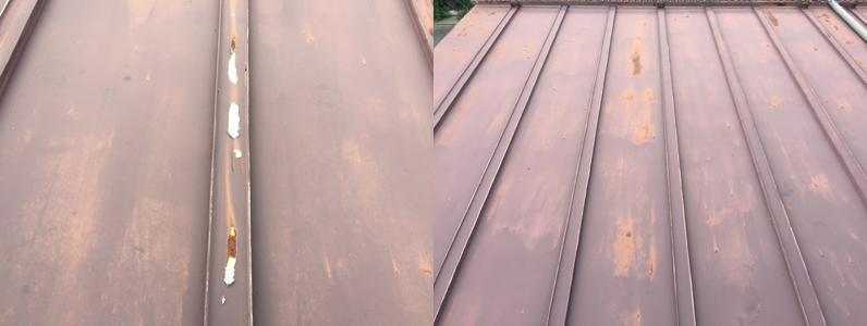 屋根塗装現調