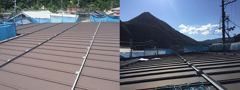 長野市A様邸屋根・外壁塗装工事・屋根施工前