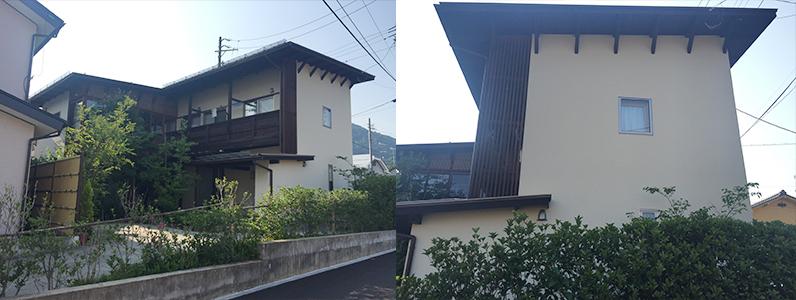 長野市A様邸屋根・外壁塗装工事・施工後