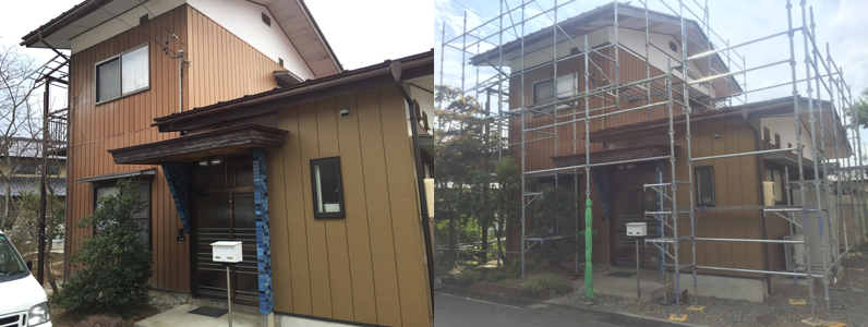 長野市外壁塗装
