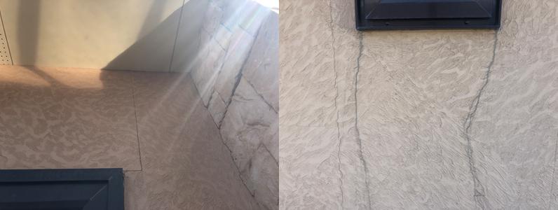 外壁のデザインを残す塗装方法