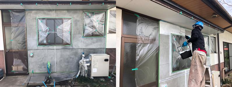 千曲市外壁塗装