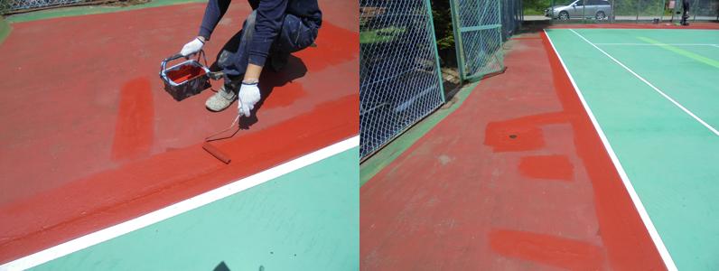 テニスコート③