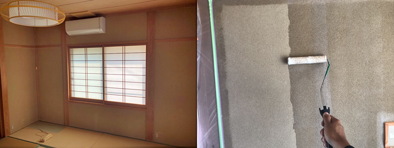 和室塗装①